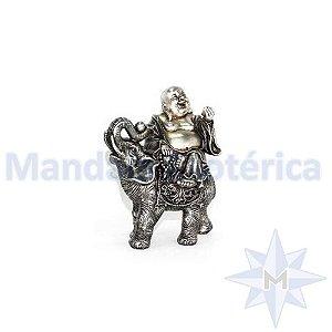 Buda Feliz no Elefante Prosperidade e Abundância