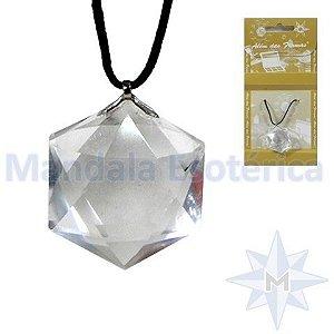 Pingente de cristal Estrela de Davi