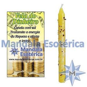 Vela Dinheiro - Amarela