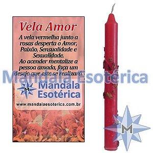 Vela Amor - Vermelha