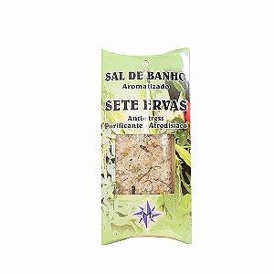 Sal de Banho Aromatizado - Sete Ervas
