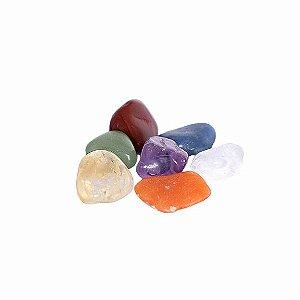 Kit Mini Pedras dos 7 Chakras