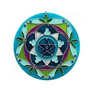 Mandala Pentagrama - Média