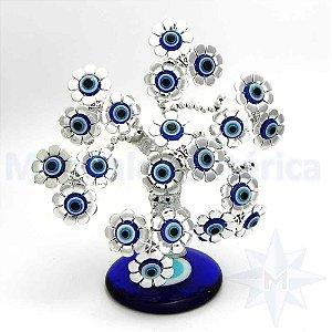 Arvore Base de Olho Grego Pequenas Flores F