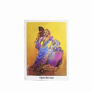 Caixa com Mini Poster de Cigana Sete Saias - 44 Uni