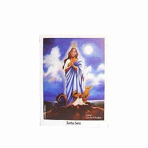 Caixa com Mini Poster de Santa Sara - 44 Uni