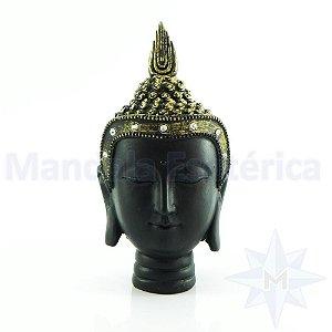 Cabeça de Buda Tai - Preta