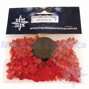 Defumação Mirra pacote com 75 gramas