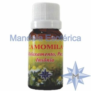 Essência Mandala Esotérica Aroma de Camomila