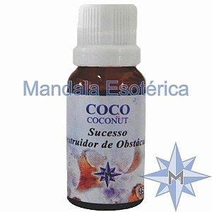 Essência Mandala Esotérica com perfume de Coco