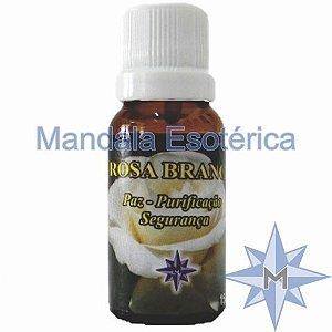 Essência Mandala Esotérica Aroma de Rosa Branca