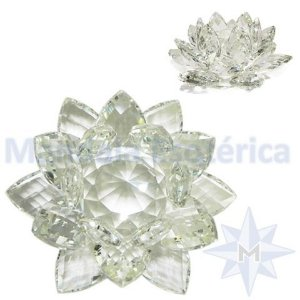 Flor de Lótus Cristal - Grande