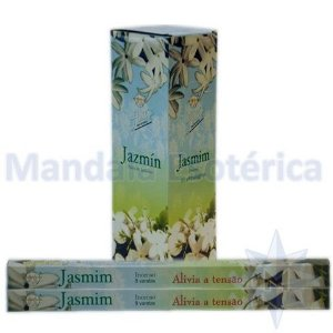 Incenso Flute Box no Aroma de Jasmim