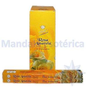 Incenso Flute Box no Aroma de Rosa Amarela