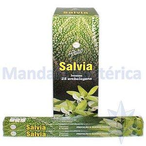 Incenso Flute Box no Aroma de Sálvia