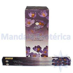 Incenso Flute Box no Aroma de Violeta