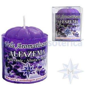 Vela com 100 Gramas no Aroma de Alfazema