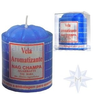 Vela com 100 Gramas no Aroma de Nag Champa