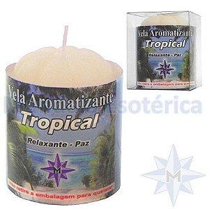Vela com 100 Gramas no Aroma Tropical (Tutti Frutti)