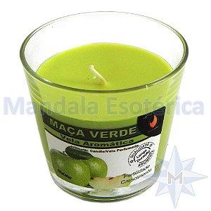 Vela Copo Importada Aroma Maçã Verde