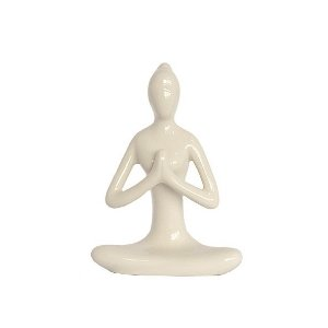 Estatueta Yoga de Cerâmica - 2 Cores