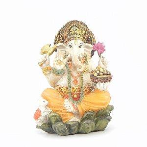 Ganesha Colorido Pintado a mão