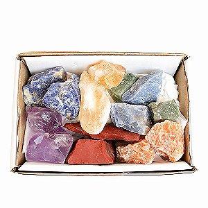 Pedras Brutas na Caixa - Modelos Variados