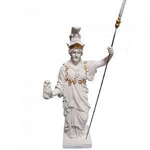 Deusa Atena - Minerva Branca