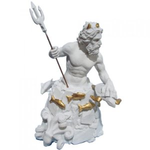 Deus dos Mares Poseidon - Netuno Branco