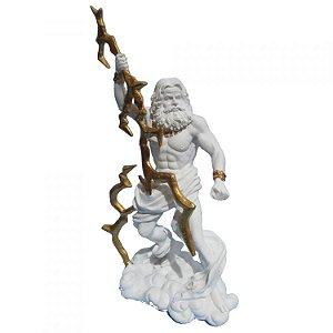 Deus do Olimpo Zeus - Júpiter Branco