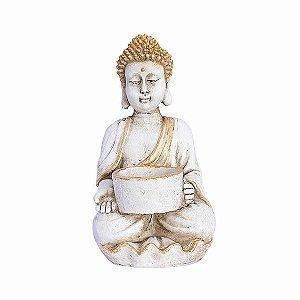 Buda Tibetano com Porta Vela