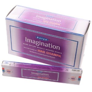 Incensos de Masala Satya Imaginação - Imagination