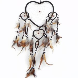 Filtro do Sonhos 5 corações Marrom