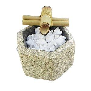 Fonte D'agua cimento celular sextavada