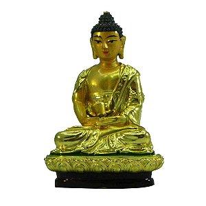 Buda dourado com base