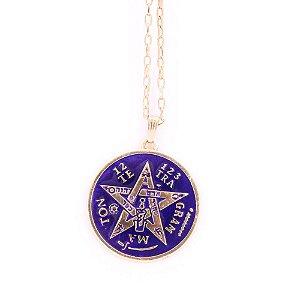 Gargantilha Tetragrama Dourada