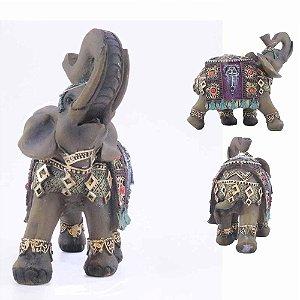 Elefante Étnico com detalhe em Roxo