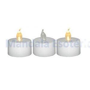 Velas de LED a Bateria Caixinha com 3 Unidades