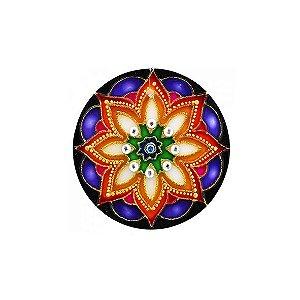 Mandala Floral - Pequena