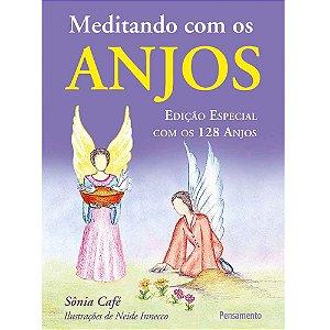Livro - Meditando Com os Anjos - Sônia Café