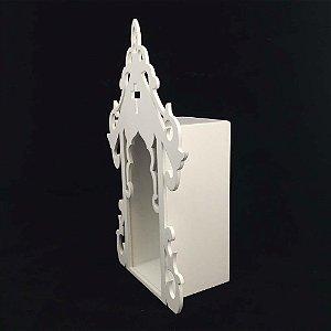 Oratório Fechado PP Branco Luxo
