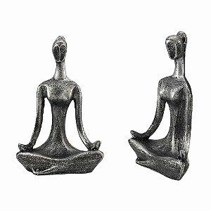 Estatueta Yoga Pequena