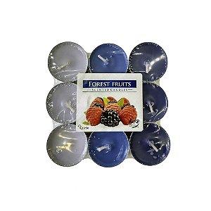 Vela T'Light Aroma Frutas Silvestres com 18 Unidades