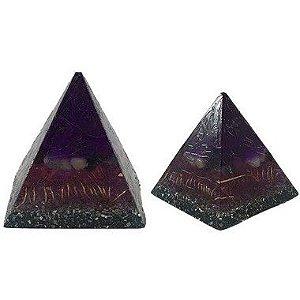 Piramide Orgonite 8x10cm