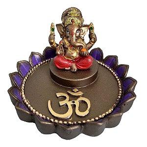 Incensário de Ganesha Floral