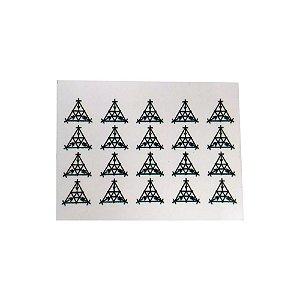 Adesivo Gráfico de  SCAP pacote com 100