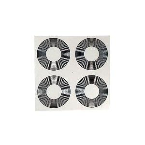Adesivo de 9 Círculos pacote com 24