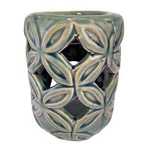 Rechô Cerâmica Folhas Vazado