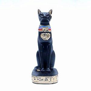 Estatueta Egípcia Gato Bastet 30 cm