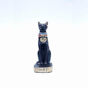 Estatueta Egípcia Gato Bastet 20 cm